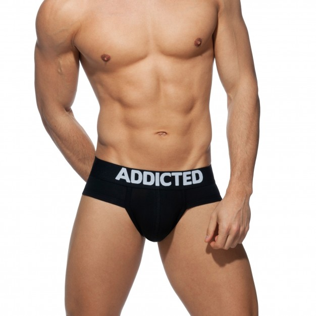 Addicted AD467 My Basic Brief Black