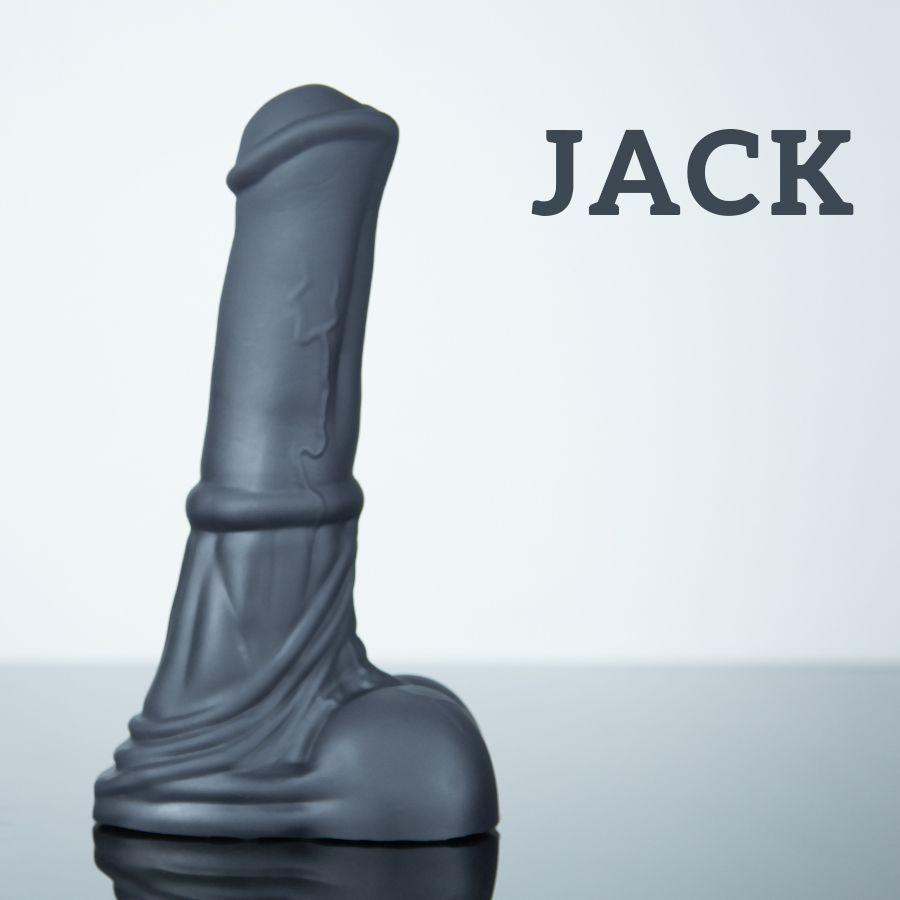 Weredog Jack Horse Dildo Jet Large