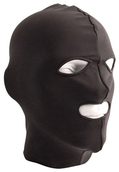 Mister B Lycra Hood Eyes and Mouth Open
