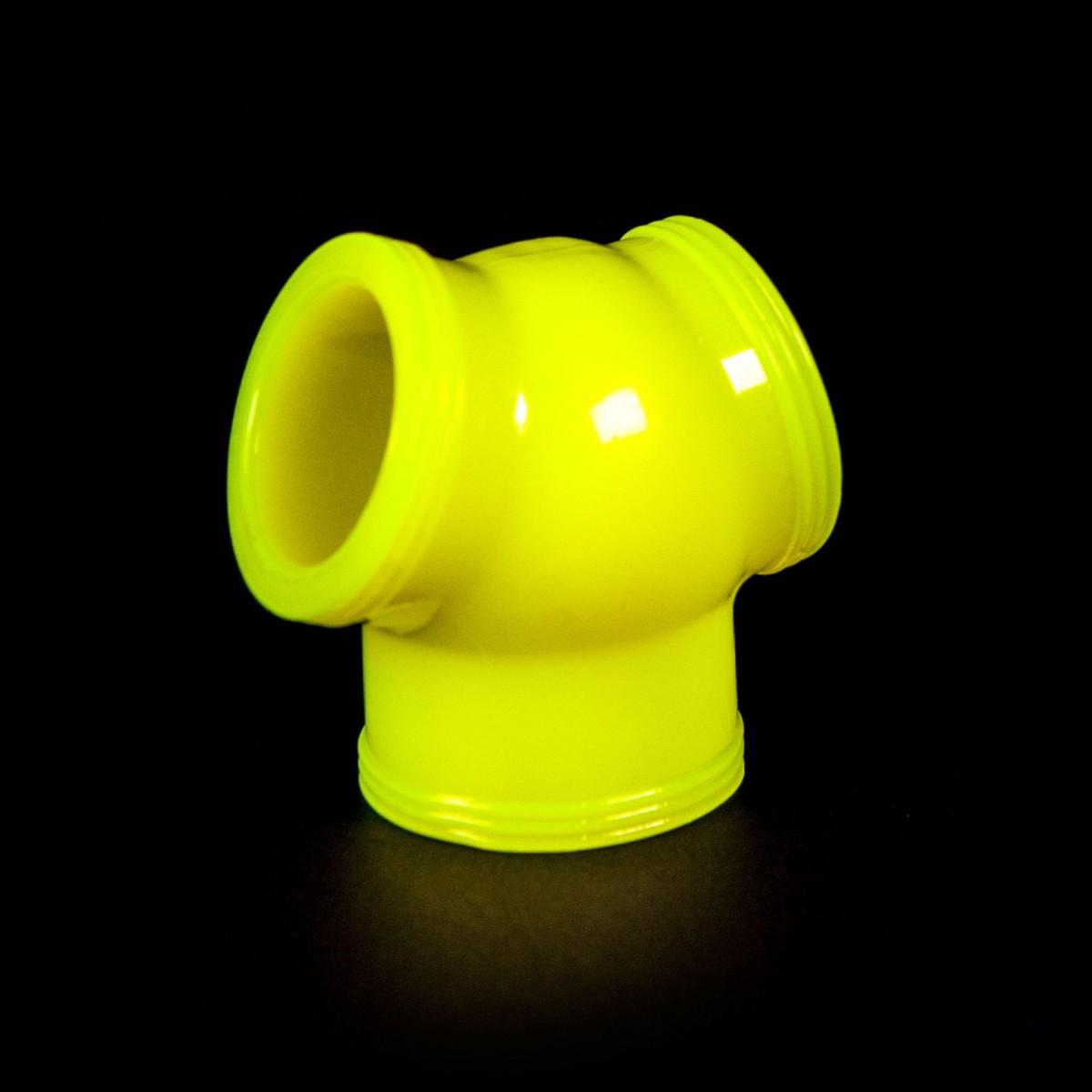Zizi Megamen Cocksling Cock Ring & Ball Stretcher Fluo Yellow