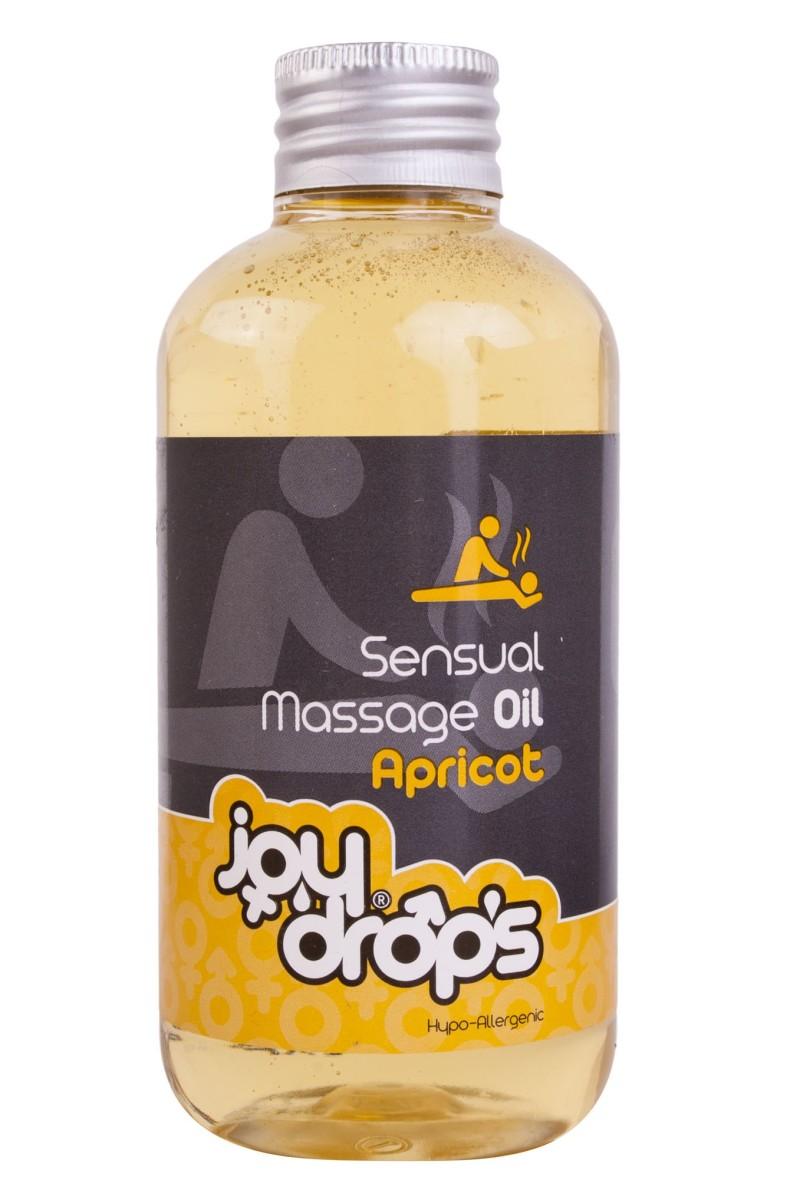 JoyDrops Sensual Massage Oil Apricot 250 ml