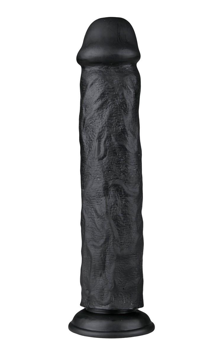 EasyToys Black Realistic Dildo 28.3 cm