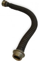 Rubber hose for Russian gas mask
