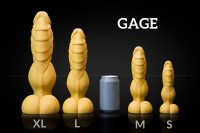 Weredog Gage Dragon Dildo Jet Large