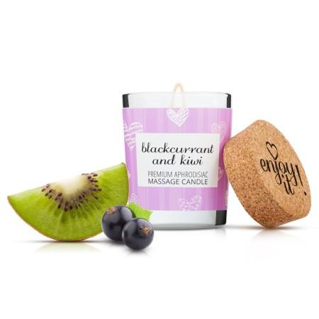Magnetifico Enjoy it! Massage Candle Blackcurrant and Kiwi 70 ml