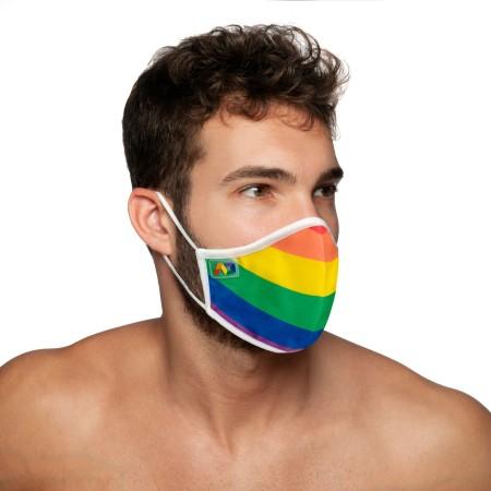 Addicted AC105 Rainbow Face Mask