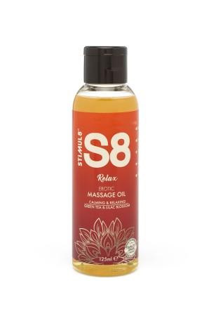 Stimul8 S8 Relax Massage Oil 125 ml