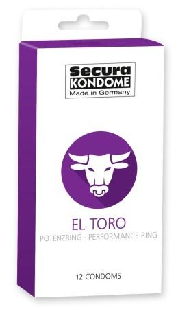 Secura El Toro Condoms 12 Pack