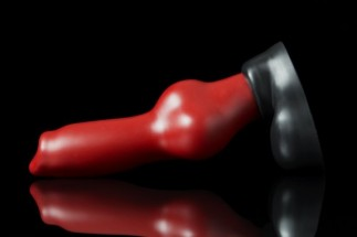Weredog Rutt Dog Dildo Crimson/Jet Large