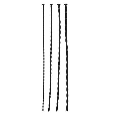 Sinner Gear Silicone Dilator 4-Piece Set Small 1–4 mm