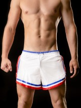 Barcode Berlin Short Rogério White-Blue-Red