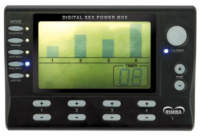 Rimba Electro Sex Power Box Deluxe